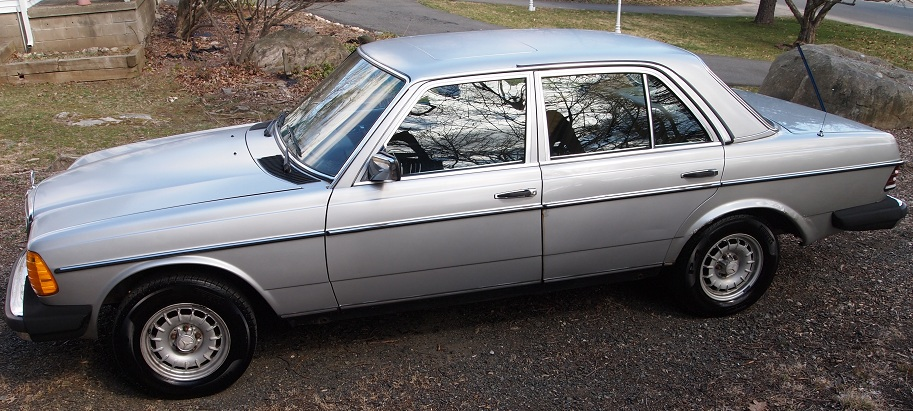 Fs Or Trade 1983 Mercedes Benz 300d Silver 222k Miles In